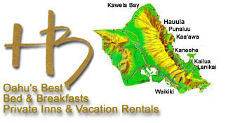 Oahu Bed & Breakfasts, Private Inns and Vacation Rentals on Maui, Hawaii